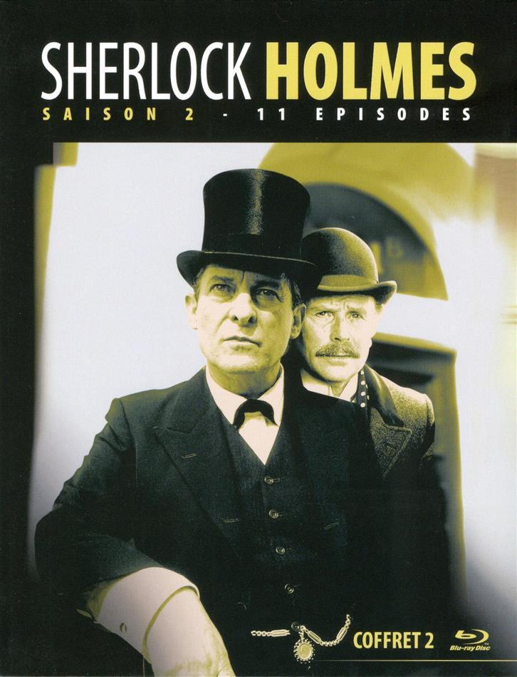Sherlock Holmes - Saison 2 (s/w, 2 Blu-rays)