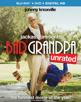 Jackass Presents: Bad Grandpa (2013) (Unrated, Blu-ray + DVD)