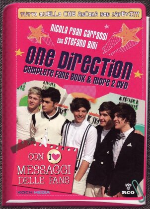 Complete Fans Book & More (Digibook, 2 DVDs) - One Direction