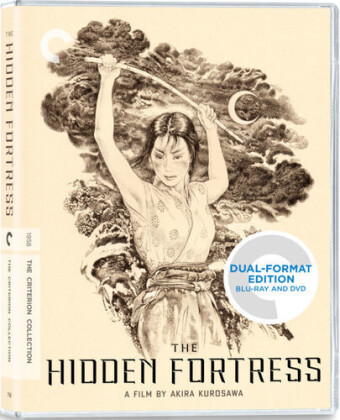 The Hidden Fortress (1958) (Criterion Collection, Blu-ray + DVD)