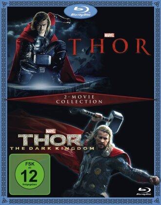 Thor (2011) / Thor 2 (2013) (2 Blu-rays)