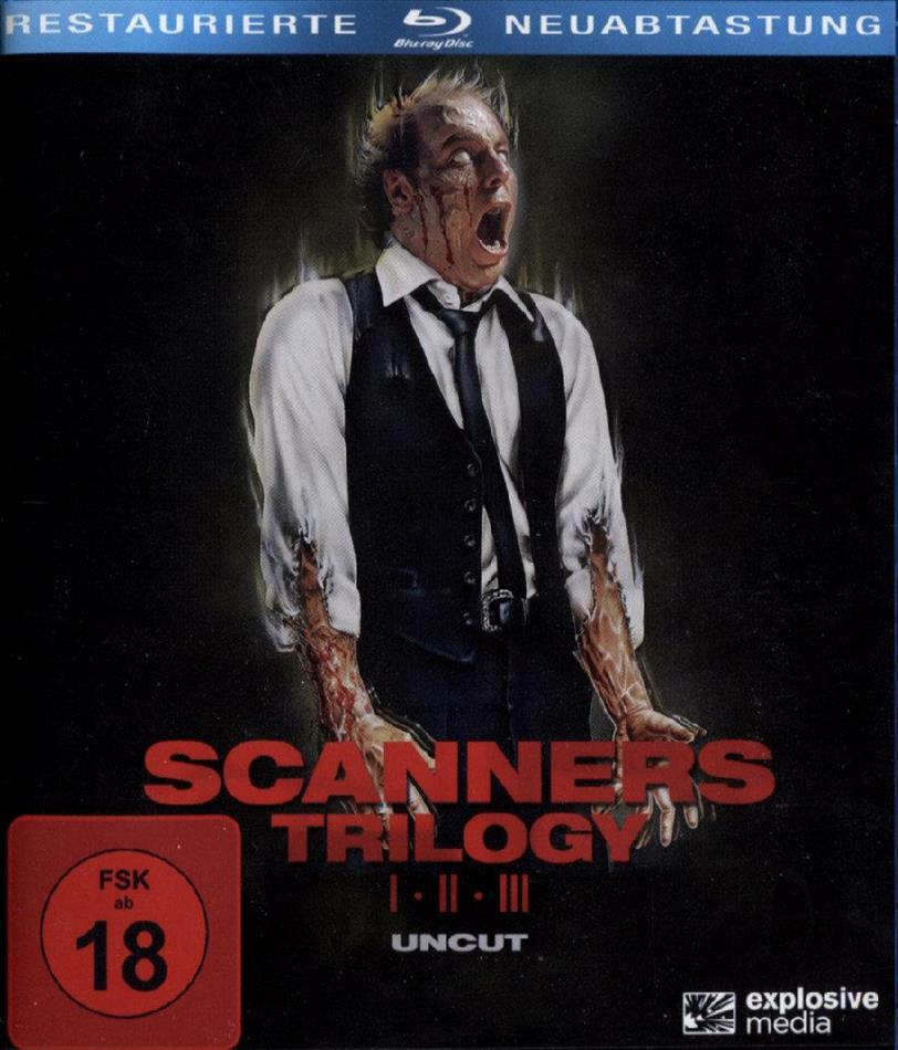 Scanners Trilogy (Uncut, 3 Blu-rays)