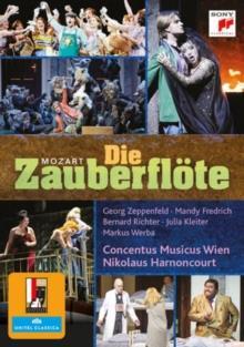 Concentus Musicus Wien, Nikolaus Harnoncourt, … - Mozart - Die Zauberflöte (Sony Classical, Unitel Classica, Salzburger Festspiele, 2 DVDs)