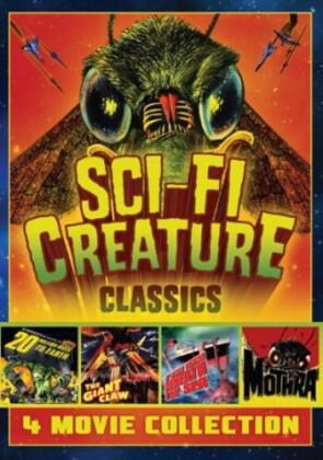 Sci-Fi Creature Classics - 4 Movie Collection (s/w)