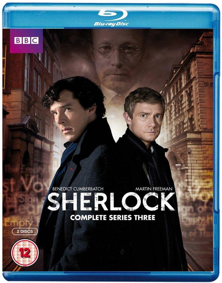 Sherlock - Series 3 (BBC, 2 Blu-rays)