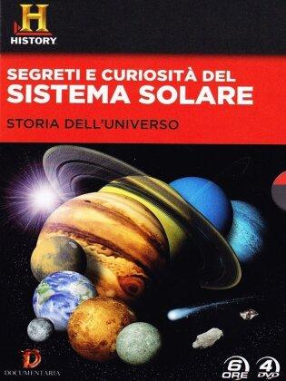 Curiosità e segreti del Sistema Solare - (History Channel) (2012) (Box, 4 DVDs)