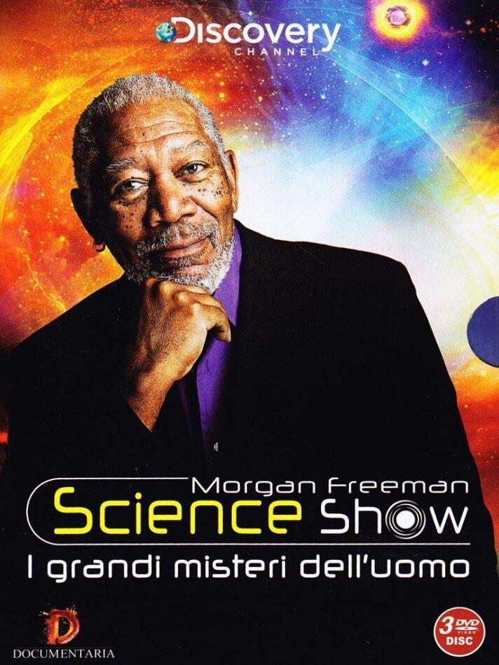 Morgan Freeman - Science Show - I grandi misteri dell'uomo (Discovery Channel, 3 DVDs)