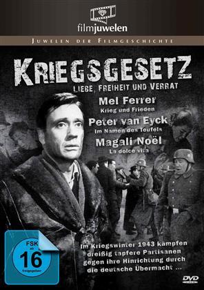Kriegsgesetz - Liebe, Freiheit und Verrat (Filmjuwelen, s/w)
