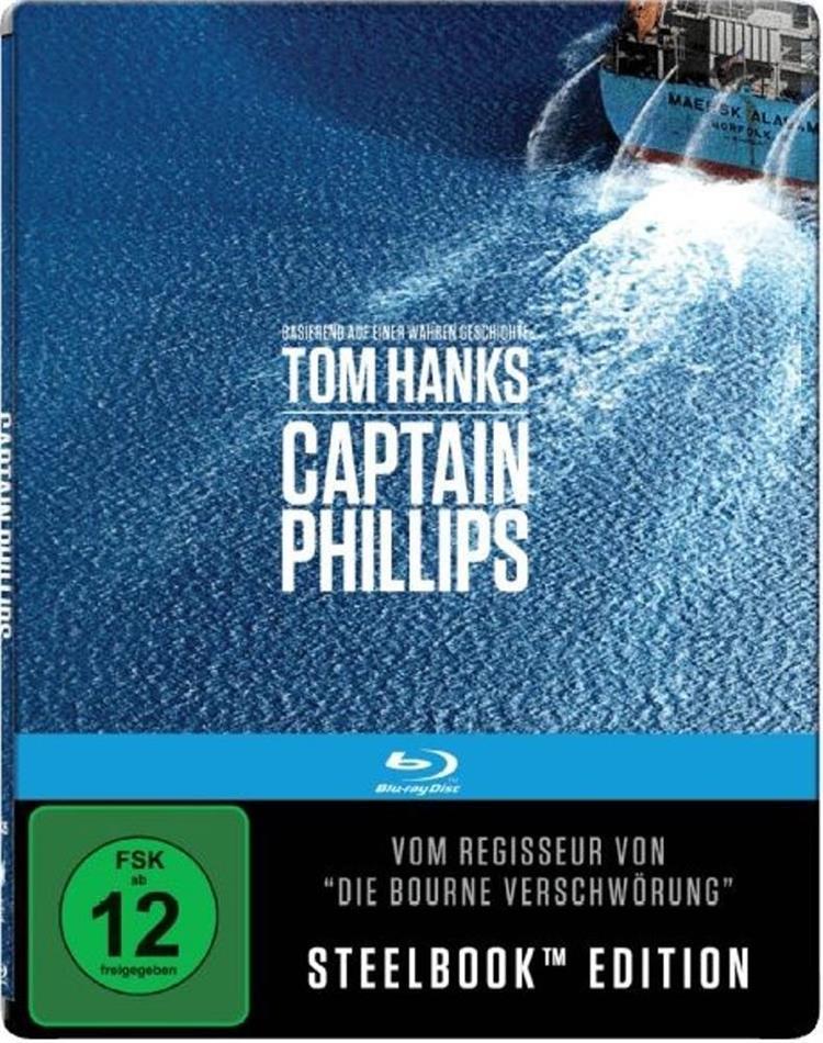 Captain Phillips (2013) (4K Mastered, Steelbook)