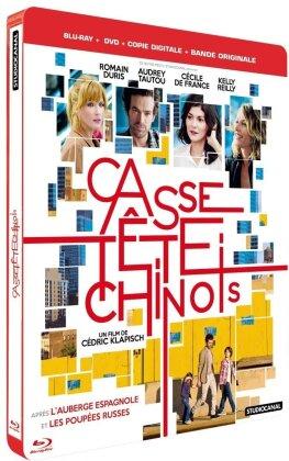 Casse-tête chinois (2013) (Steelbook, Blu-ray + DVD + CD)