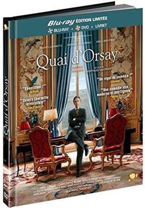Quai d'Orsay (2013) (Digibook, Limited Edition, Blu-ray + DVD)
