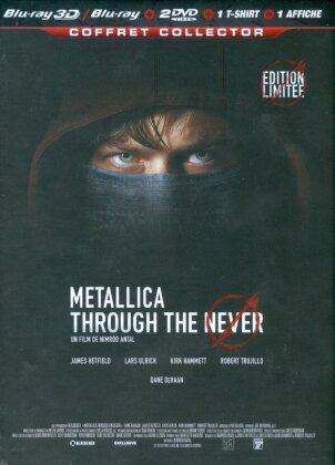 Metallica - Through The Never 3D (Édition Limitée Real 3D + 2D + 2 DVD + Goodies)