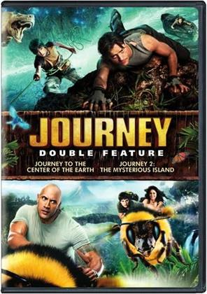 Journey to the Center of the Earth / Journey 2: The Mysterious Island (2 DVDs)