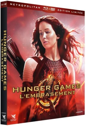 Hunger Games 2 - L'embrasement (2013) (Limited Edition, 3 Blu-rays + 2 DVDs + CD)