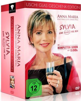 Uschi Glas Geschenk-Edition - Anna Maria - Eine Frau geht ihren Weg / Sylvia - Eine Klasse für sich (15 DVDs)