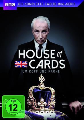 House of Cards - Um Kopf und Krone - Die komplette zweite Mini-Serie (2 DVDs)