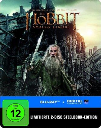 Der Hobbit 2 - Smaugs Einöde (2013) (Steelbook, 2 Blu-rays)