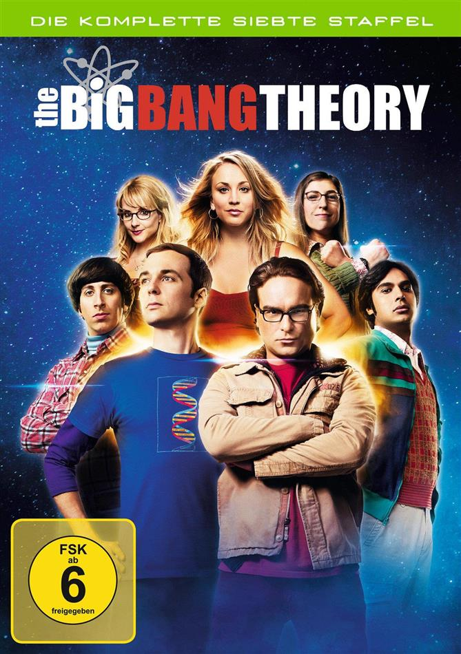 The Big Bang Theory - Staffel 7 (3 DVDs)