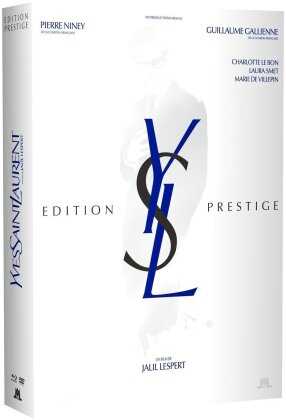 Yves Saint Laurent - YSL (2013) (Box, Limited Deluxe Edition, Blu-ray + DVD + Buch)