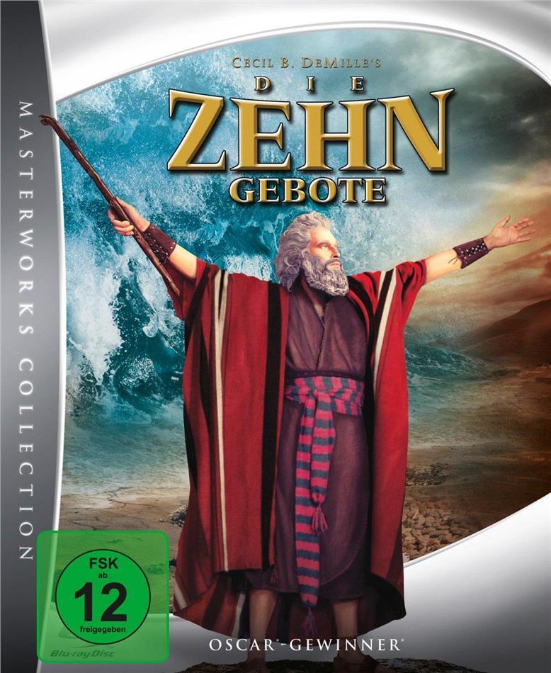Die Zehn Gebote (1956) (Digibook, 2 Blu-rays)