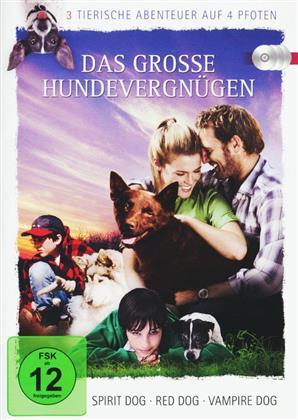 Das grosse Hundevergnügen - Spirit Dog / Vampire Dog / Red Dog (3 DVDs)