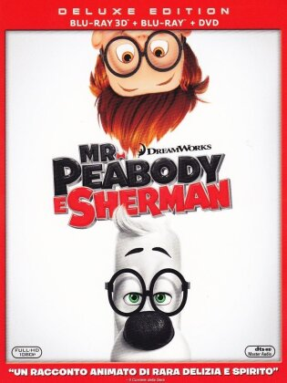 Mr. Peabody e Sherman (2014) (Blu-ray 3D + Blu-ray + DVD)