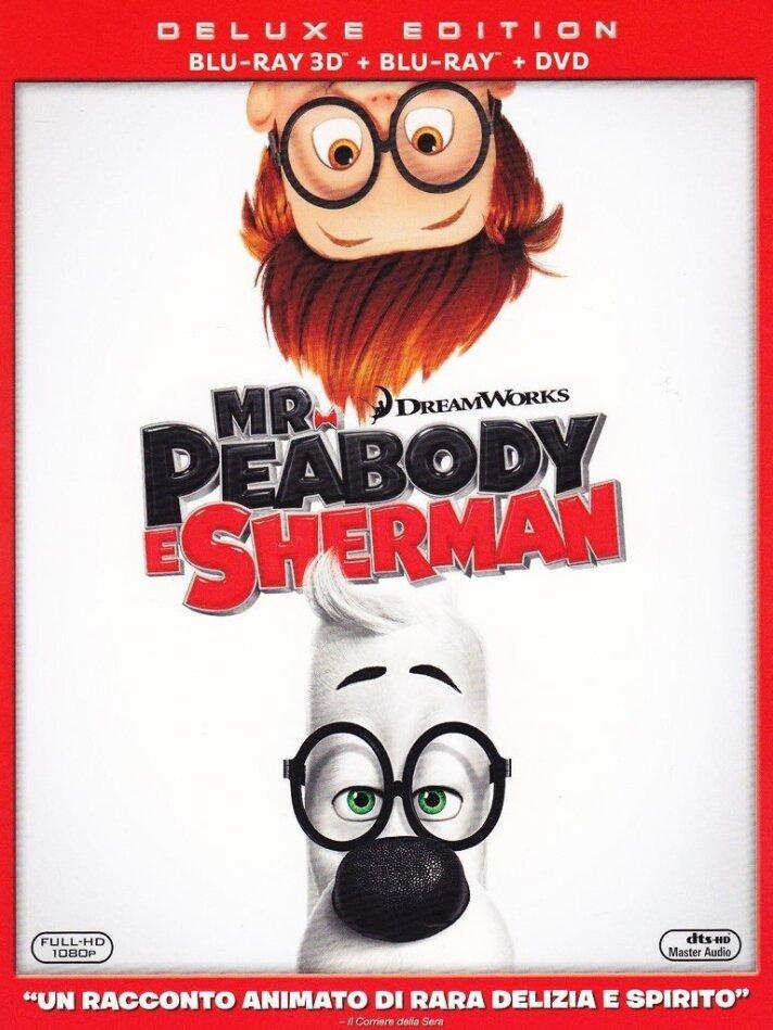 Mr. Peabody e Sherman (2014) (Blu-ray 3D + Blu-ray + DVD)