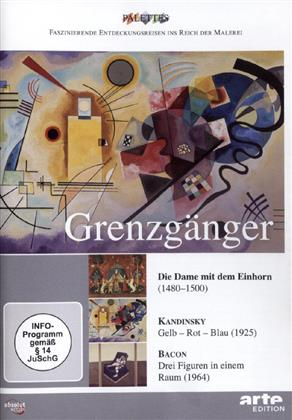 Grenzgänger - Die Dame mit dem Einhorn / Kandinsky / Bacon
