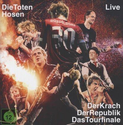 Die Toten Hosen - Live: Der Krach der Republik - Das Tourfinale (Blu-ray + DVD + 2 CDs + Buch)