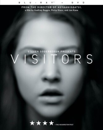 Visitors (2013) (s/w, Blu-ray + DVD)