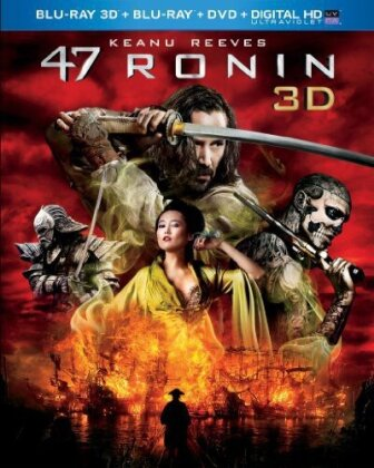 47 Ronin (2013) (Blu-ray 3D (+2D) + Blu-ray + DVD)