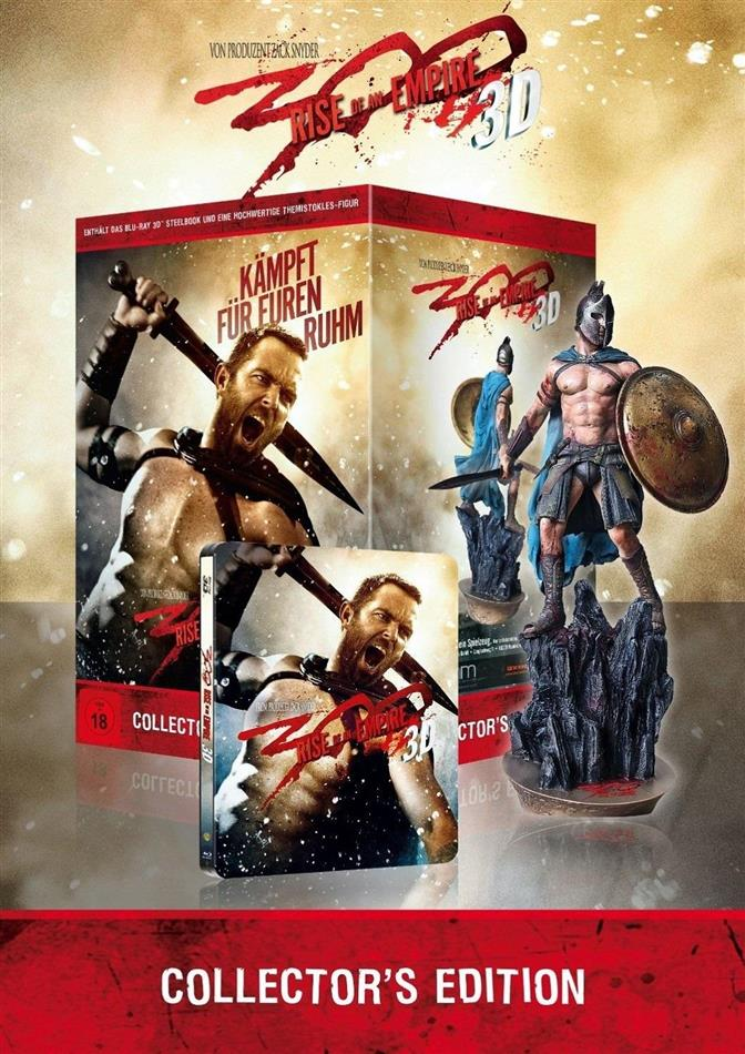 300 - Rise of an Empire - (Real 3D + 2D Steelbook + Figur) (2013) (Collector's Edition)