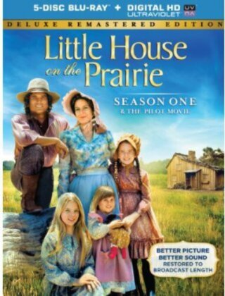 Little House on the Prairie - Season 1 (Deluxe Edition, Versione Rimasterizzata, 5 Blu-ray)