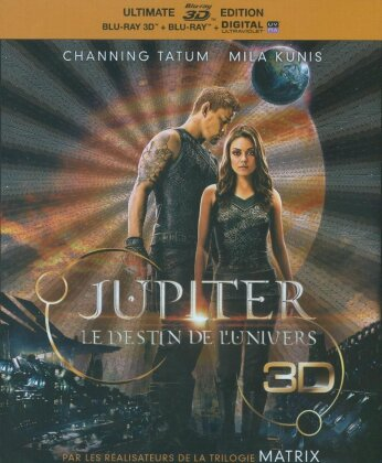 Jupiter - Le destin de l'Univers (2015) (Édition Ultime, Blu-ray 3D + Blu-ray)