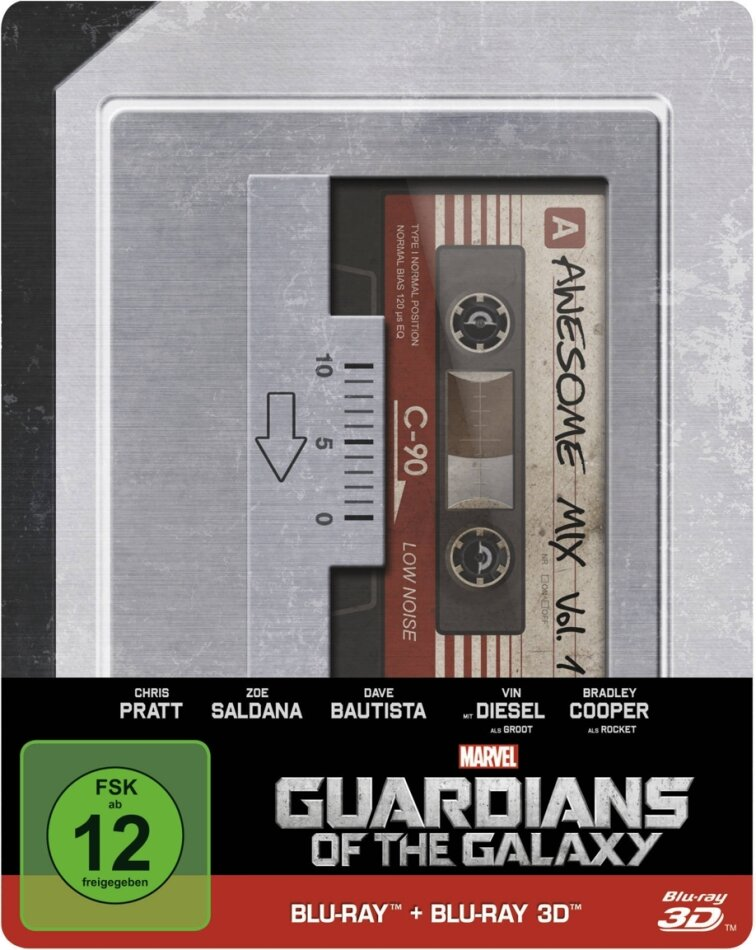Guardians of the Galaxy - (Limited Steelbook - Real 3D + 2D / 2 Discs) (2014)