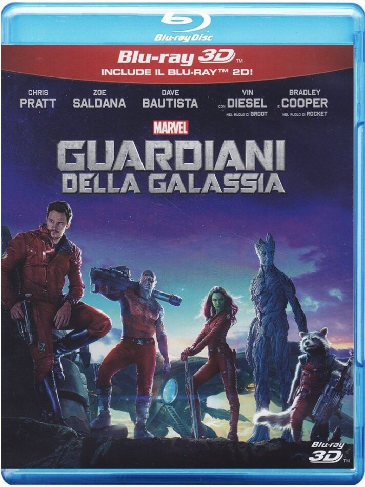 Guardiani della Galassia (2014) (Blu-ray 3D + Blu-ray)