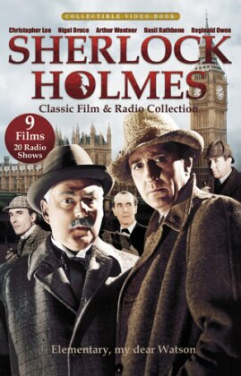 Sherlock Holmes - Classic Film and Radio Collection (s/w, 3 DVDs)