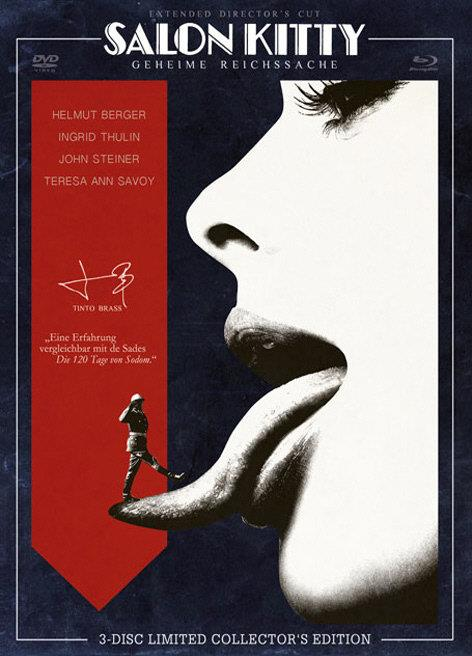 Tinto Brass - Salon Kitty (1976) (Cover C, Collector's Edition, Limited Edition, Uncut, Blu-ray + 2 DVDs)