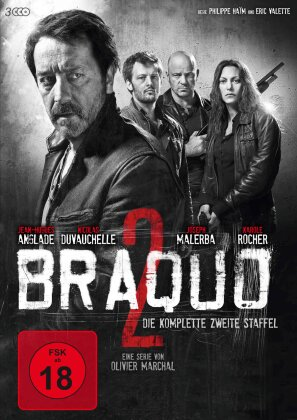 Braquo - Staffel 2 (3 DVDs)