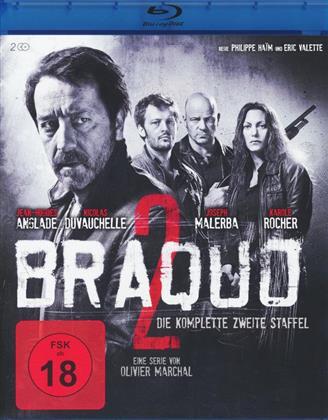Braquo - Staffel 2 (Blu-ray + 2 DVDs)