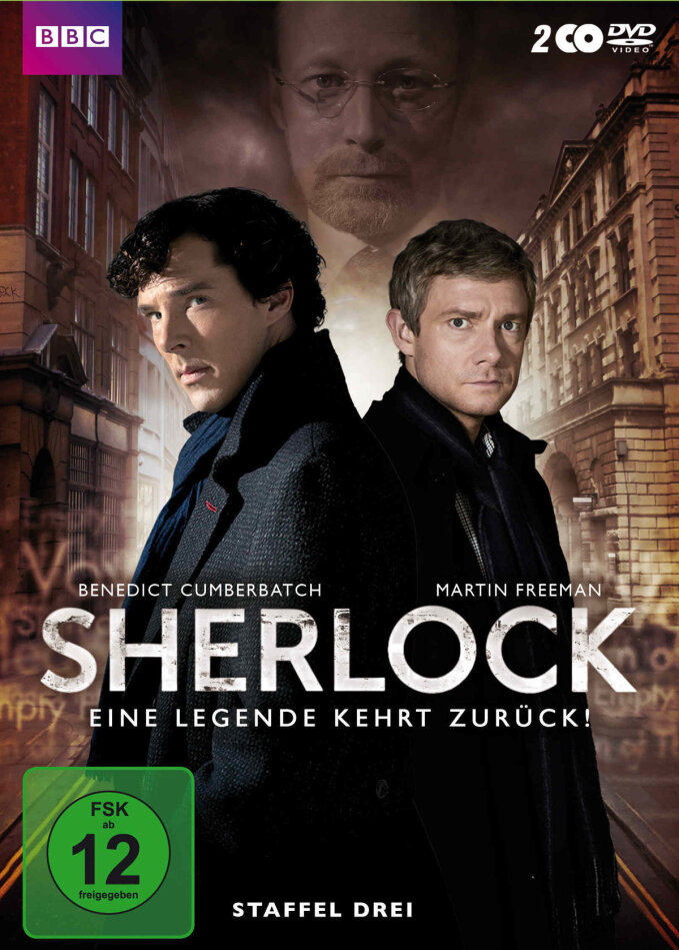 Sherlock - Staffel 3 (BBC, 2 DVDs)