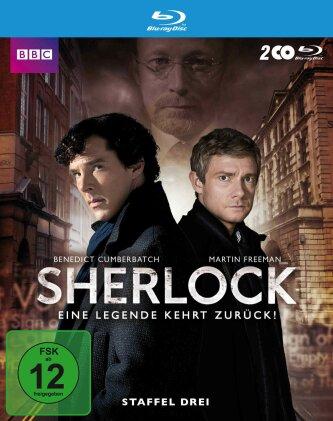 Sherlock - Staffel 3 (BBC, 2 Blu-ray)