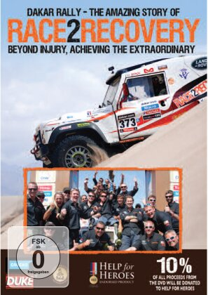 Dakar Rally - The Amazing Story of Race2Recovery - Beyond injury, achieving the extraordinary