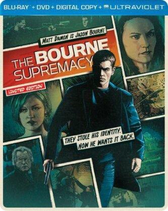 The Bourne Supremacy (2004) (Steelbook, Blu-ray + DVD)
