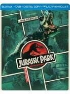 Jurassic Park (1993) (Steelbook, Blu-ray + DVD)