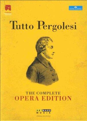 Various Artists - Pergolesi - Tutto Pergolesi (Arthaus Musik, Unitel Classica, 12 DVDs)