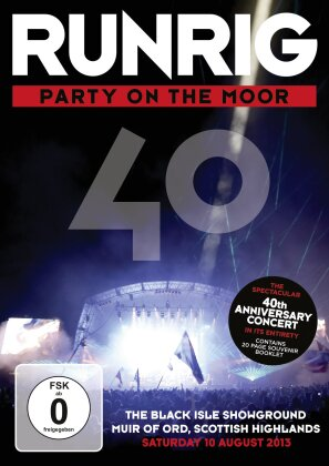 Runrig - Party On The Moor - The 40th Anniversary Concert (2 DVDs)
