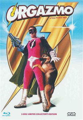 Orgazmo (1997) (Cover B, Collector's Edition, Limited Edition, Mediabook, Uncut, Blu-ray + 2 DVDs)