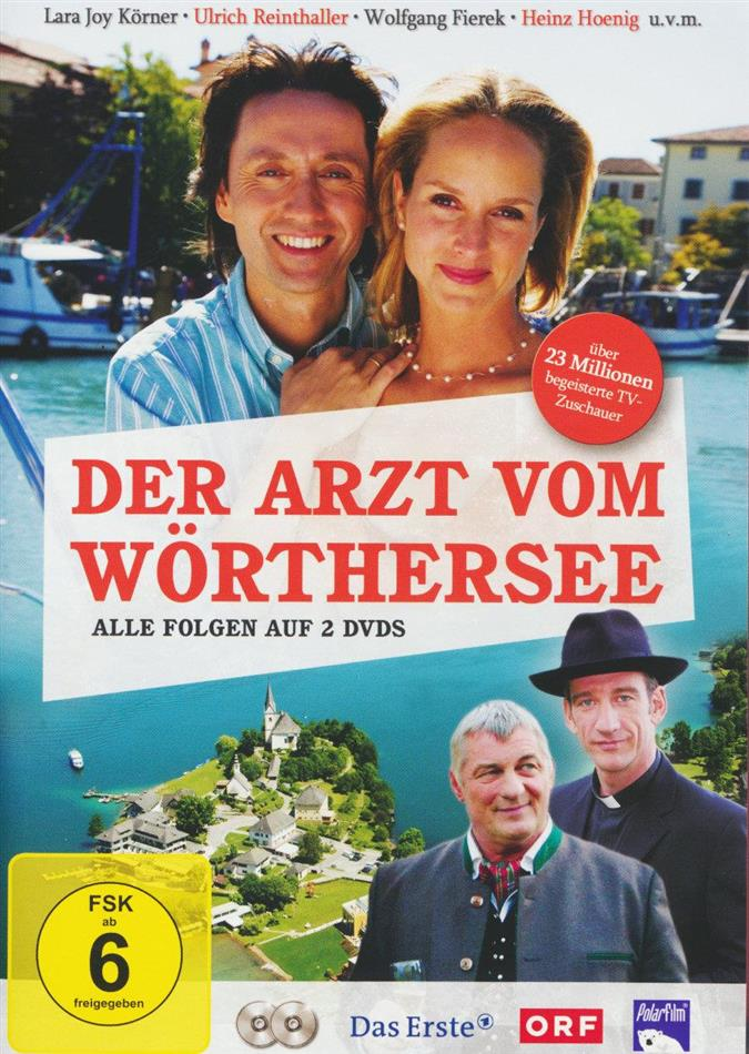 Der Arzt vom Wörthersee - Alle Folgen (2 DVDs)