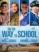 On the Way to School - Sur le chemin de l'école (2013) (2 Blu-rays + DVD)